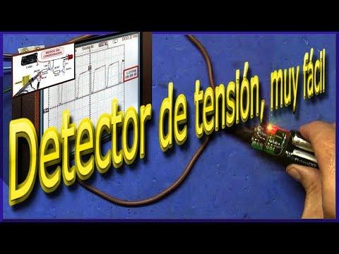 Detector de tensión por inducción, muy fácil