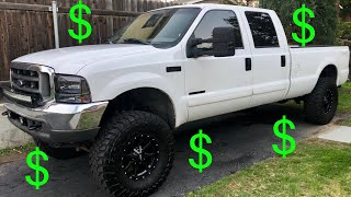 Cost of daily driving a 7.3 Powerstroke | How expensive is it to own a 7.3L F250 Powerstroke diesel