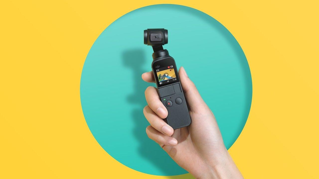 DJI представила экшн-камеру Osmo Pocket которой нет аналогов