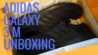 Adidas  MEN S GALAXY 3 SHOES Unboxing - Самые лучшие видео 813da8b6736