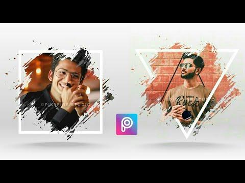Picsart Editing Tutorial | Creative Portrait Design | PicsArt Editing 2018
