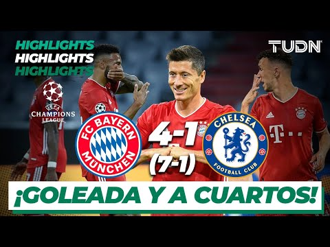 Highlights | Bayern 4(7) – (1)1 Chelsea | Champions League 2020 – Octavos final | TUDN