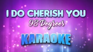 98 Degrees - I Do Cherish You (Karaoke & Lyrics)