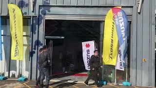Suzuki新車派對周邊攤位
