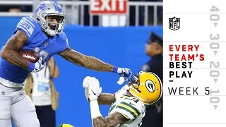 Every Team's Best Play from Week 5 | NFL Highlights