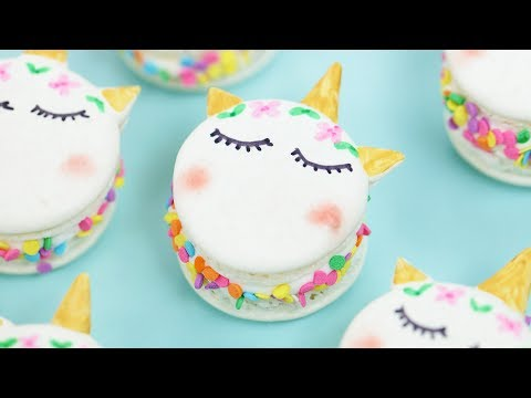 UNICORN MACARONS - NERDY NUMMIES