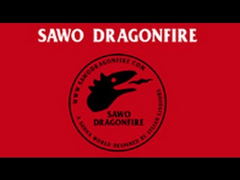 SAWO Dragonfire - A sauna world designed by Stefan Lindfors