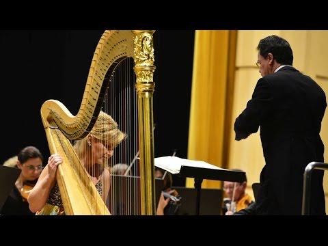 Jana Boušková plays Harp Concerto Op. 25 by Alberto Ginastera II