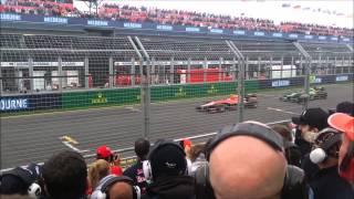 F1 2013 Vs 2014 Sound Comparison - Melbourne