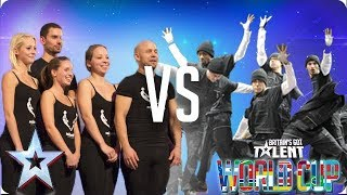 QUARTER FINALS: Attraction vs Diversity | Britain's Got Talent World Cup 2018 - Video Youtube
