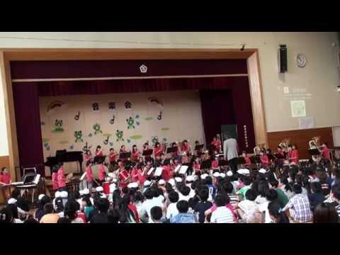 軽井沢中部小学校吹奏楽部 H28校内音楽会 リクディム〜4つのイスラエル舞曲