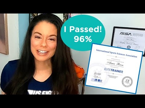 ISSA Certified Personal Trainer Exam: How I Passed + Save $100 ...