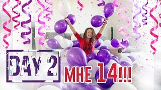 НЕДЕЛЯ ВЛОГОВ ДЕНЬ 2 ДЕНЬ РОЖДЕНИЯ // 14 ЛЕТ!