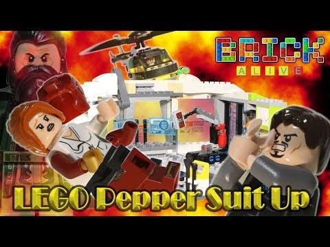 Download Lego Marvel Tony Stark Malibu Mansion Moc Video 3GP Mp4 FLV
