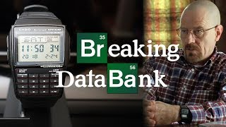Geek Out! Casio DBC32-1A Data Bank Watch Review - Perth WAtch #123