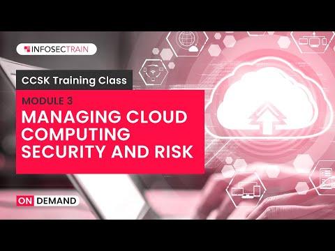 CCSK Training Video Tutorial | Managining Cloud Computing ...