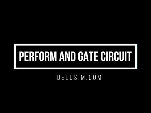 Perform AND Gate Circuit