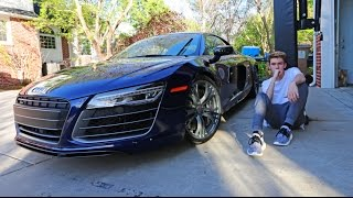 MY NEW CAR - AUDI R8 (16 years old)