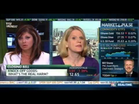 Meg Strickler on CNBC #in with Maria Bartiromo Closing Bell August 16, 2012