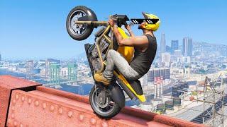 GTA 5 EPIC STUNTS & Fails (BEST GTA 5 Stunts Compilation)