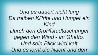 Achim Reichel - Im Ghetto Lyrics