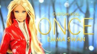 DIY - Custom Doll:  ONCE Upon A Time Emma Swan - Handmade - Doll - Crafts