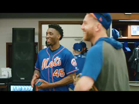 Mets Fan Donovan Mitchell Visits Citi Field