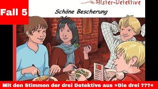 Die Alster Detektive - Fall 5 - Schöne Bescherung - Kostenlos - Hörspiel - für Kinder ab 8 Jahre