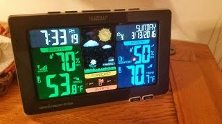 TECH REVIEW - LA CROSSE C83349 Wireless Color Weather Station