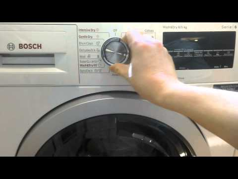 Review on Bosch washer dryer series 6