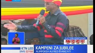 William Ruto aongoza Jubilee kwa kampeni Magharibi mwa Kenya