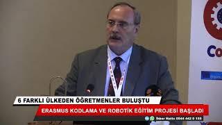ERASMUS kodlama ve robotik eğitim projesi başladı