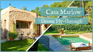 Casa Marlow - FPV Drone Fly-through | Beautiful House for Sale in Ibiza