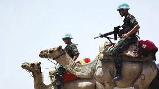 Голубые каски защитят Хамас от Израиля