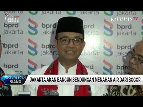Jakarta Akan Bangun Bendungan Menahan Air dan Bogor