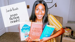 Best Fiction Books of 2020 || What I'm Reading || Book List 2020