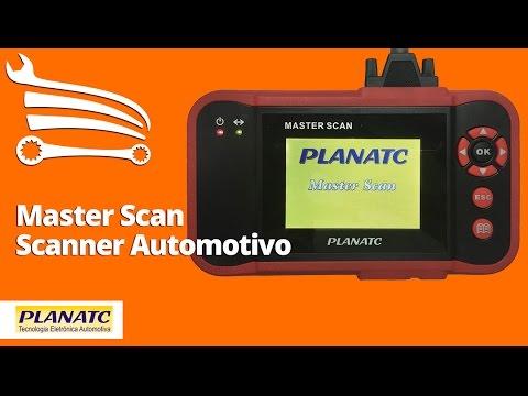 Scanner Planatc by Launch para Diagnósticos Motor, A/T, Abs, Airbag, Flex - AF e Oil Reset - Video