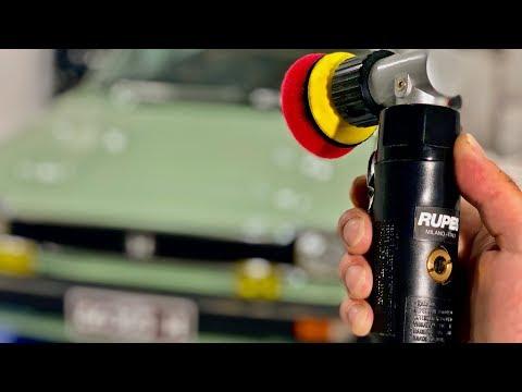 Rupes TA50 Mini Polisher & Sander – Review & Demonstration!