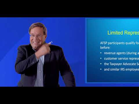 IRS Annual Filing Season Program (AFSP) Overview - YouTube