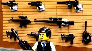 Лего ОГРАБЛЕНИЕ ОРУЖЕЙНОГО Магазина 2018 💣 Лего Полиция Мультик