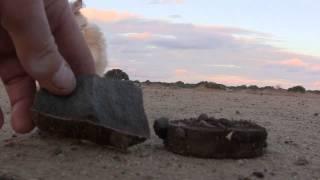 Meteorite Hunting On A Dry West Australian Salt Lake Pan & Ancient Aboriginal Stone Tools - Part 1