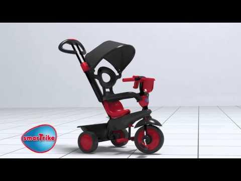 Triciclo 4 en 1 evolutivo Smart Trike Rosa