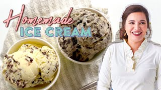 AMAZING Homemade Ice Cream Recipe | May Never Go Back To Store-Bought!! | Southern Living From Home