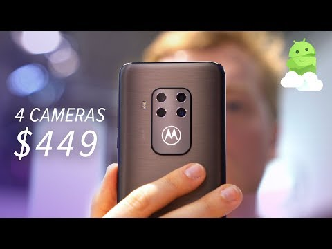 Motorola One Zoom Impressions: 4 Cameras for $449!