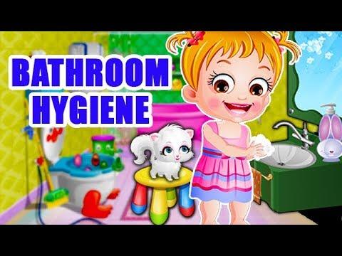 Video of Baby Hazel Bathroom Hygiene