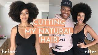 Why I Cut My Long Natural Hair