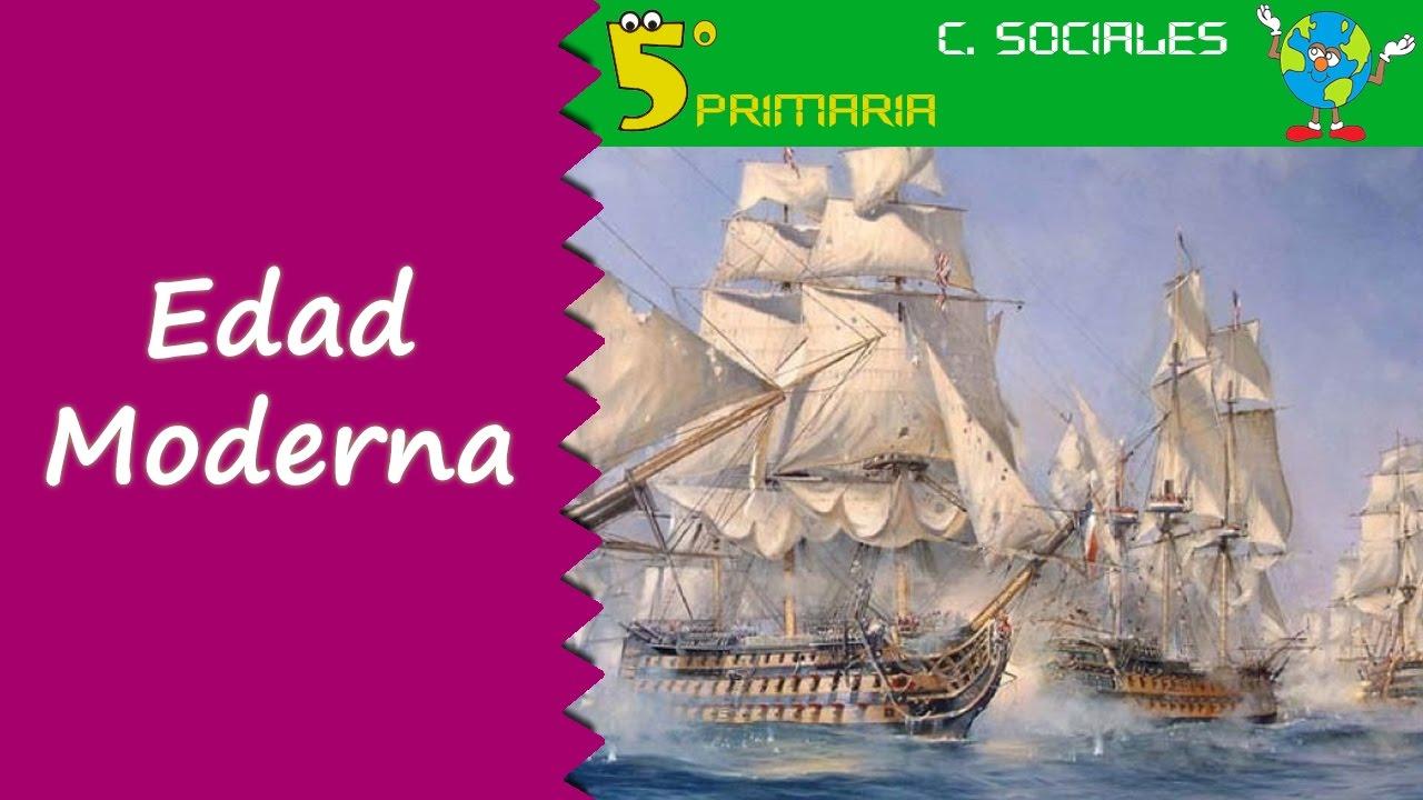 Edad Moderna. Sociales, 5º Primaria, Tema 8