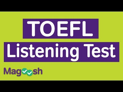 TOEFL Listening Practice Test - YouTube
