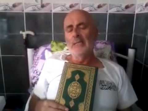 غسان سلطانة أسلم قبل وفاته و طلب بنشر هذا التسجيل بعد وفاته