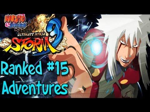 Naruto Ultimate Ninja Storm 3: Ranked Adventures   Episode 15 - Jiraiya Action
